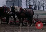 Image of Farmer plowing field New York United States USA, 1970, second 46 stock footage video 65675040534