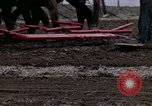 Image of Farmer plowing field New York United States USA, 1970, second 57 stock footage video 65675040534