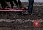 Image of Farmer plowing field New York United States USA, 1970, second 58 stock footage video 65675040534