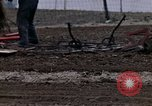 Image of Farmer plowing field New York United States USA, 1970, second 60 stock footage video 65675040534