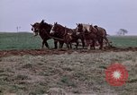 Image of Horse drawn plow New York United States USA, 1970, second 16 stock footage video 65675040541
