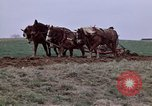 Image of Horse drawn plow New York United States USA, 1970, second 19 stock footage video 65675040541
