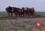 Image of Horse drawn plow New York United States USA, 1970, second 20 stock footage video 65675040541
