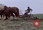Image of Horse drawn plow New York United States USA, 1970, second 21 stock footage video 65675040541