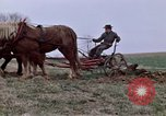 Image of Horse drawn plow New York United States USA, 1970, second 22 stock footage video 65675040541