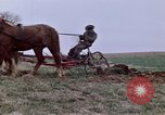 Image of Horse drawn plow New York United States USA, 1970, second 23 stock footage video 65675040541