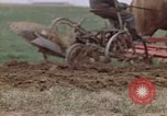 Image of Horse drawn plow New York United States USA, 1970, second 35 stock footage video 65675040541