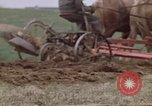 Image of Horse drawn plow New York United States USA, 1970, second 36 stock footage video 65675040541