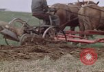 Image of Horse drawn plow New York United States USA, 1970, second 37 stock footage video 65675040541