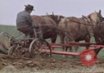 Image of Horse drawn plow New York United States USA, 1970, second 39 stock footage video 65675040541