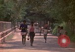Image of uniformed children Kingston Jamaica, 1972, second 21 stock footage video 65675040551