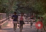 Image of uniformed children Kingston Jamaica, 1972, second 22 stock footage video 65675040551