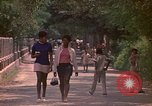 Image of uniformed children Kingston Jamaica, 1972, second 23 stock footage video 65675040551