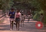 Image of uniformed children Kingston Jamaica, 1972, second 24 stock footage video 65675040551
