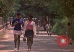 Image of uniformed children Kingston Jamaica, 1972, second 25 stock footage video 65675040551