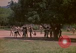Image of uniformed children Kingston Jamaica, 1972, second 47 stock footage video 65675040551