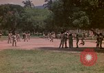 Image of uniformed children Kingston Jamaica, 1972, second 51 stock footage video 65675040551