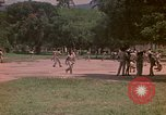 Image of uniformed children Kingston Jamaica, 1972, second 53 stock footage video 65675040551