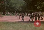Image of uniformed children Kingston Jamaica, 1972, second 55 stock footage video 65675040551