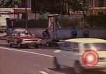 Image of Busy street Montego Bay Jamaica, 1972, second 6 stock footage video 65675040556
