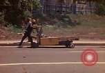 Image of Busy street Montego Bay Jamaica, 1972, second 14 stock footage video 65675040556