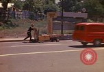 Image of Busy street Montego Bay Jamaica, 1972, second 16 stock footage video 65675040556