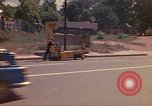 Image of Busy street Montego Bay Jamaica, 1972, second 17 stock footage video 65675040556