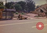 Image of Busy street Montego Bay Jamaica, 1972, second 20 stock footage video 65675040556