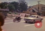Image of Busy street Montego Bay Jamaica, 1972, second 23 stock footage video 65675040556