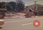 Image of Busy street Montego Bay Jamaica, 1972, second 24 stock footage video 65675040556