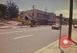 Image of Busy street Montego Bay Jamaica, 1972, second 27 stock footage video 65675040556