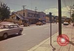 Image of Busy street Montego Bay Jamaica, 1972, second 29 stock footage video 65675040556