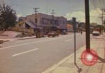 Image of Busy street Montego Bay Jamaica, 1972, second 30 stock footage video 65675040556