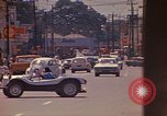 Image of Busy street Montego Bay Jamaica, 1972, second 36 stock footage video 65675040556