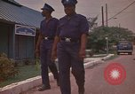Image of Police training school Montego Bay Jamaica, 1972, second 21 stock footage video 65675040557