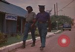 Image of Police training school Montego Bay Jamaica, 1972, second 42 stock footage video 65675040557