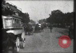 Image of Champs Elysees Paris France, 1900, second 21 stock footage video 65675040580
