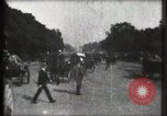 Image of Champs Elysees Paris France, 1900, second 23 stock footage video 65675040580