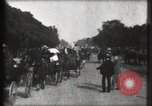 Image of Champs Elysees Paris France, 1900, second 28 stock footage video 65675040580