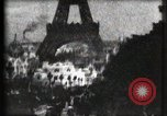 Image of Eiffel tower Paris France, 1900, second 3 stock footage video 65675040586