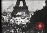 Image of Eiffel tower Paris France, 1900, second 5 stock footage video 65675040586
