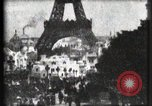 Image of Eiffel tower Paris France, 1900, second 6 stock footage video 65675040586