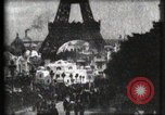 Image of Eiffel tower Paris France, 1900, second 9 stock footage video 65675040586