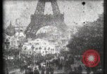 Image of Eiffel tower Paris France, 1900, second 10 stock footage video 65675040586
