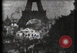 Image of Eiffel tower Paris France, 1900, second 11 stock footage video 65675040586