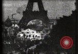 Image of Eiffel tower Paris France, 1900, second 12 stock footage video 65675040586