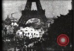 Image of Eiffel tower Paris France, 1900, second 16 stock footage video 65675040586