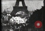 Image of Eiffel tower Paris France, 1900, second 19 stock footage video 65675040586