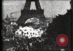 Image of Eiffel tower Paris France, 1900, second 22 stock footage video 65675040586