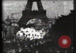 Image of Eiffel tower Paris France, 1900, second 23 stock footage video 65675040586